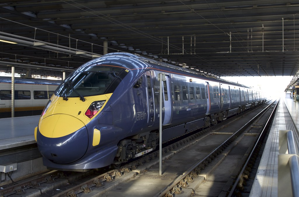 395001 at St Pancras International