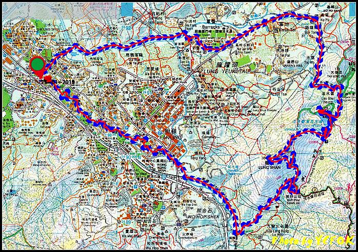 粉嶺流水嚮及龍山GPS- 001