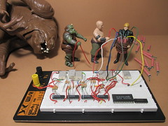 Star Wars (secret life) has added a photo to the pool:When Jabba released the trap door, both Luke Skywalker and a Gamorrean Guard fell into the Rancor's pit. After Rancor ate the Gamorrean Guard, Luke Skywalker killed Rancor. Malakili, the Rancor keeper, wept painfully. In this shot, can be seen as  Malakili revenged Rancor.More shots STAR WARS (secret life) available here------Cuando Jabba abrió la trampilla, tanto Luke como el Guardia Gamorreano cayeron al foso de Rancor. Después de que Rancor se comiera al Guardia Gamorreano, Luke Skywalker mató a Rancor. Malakili, el cuidador de Rancor, desconsoladamente. En esta imagen, se puede ver como  Malakili vengó a Rancor.Más fotografías STAR WARS (secret life) disponibles aquí