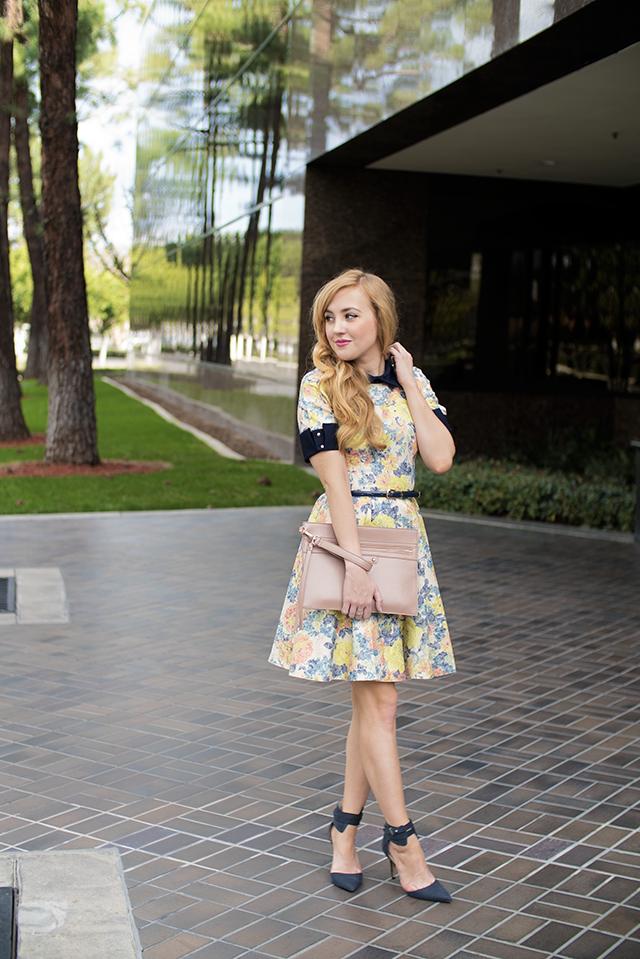 asos closet floral dress
