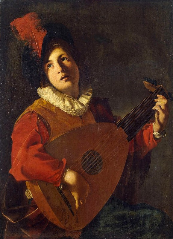Nicolas Tournier - Lute Player