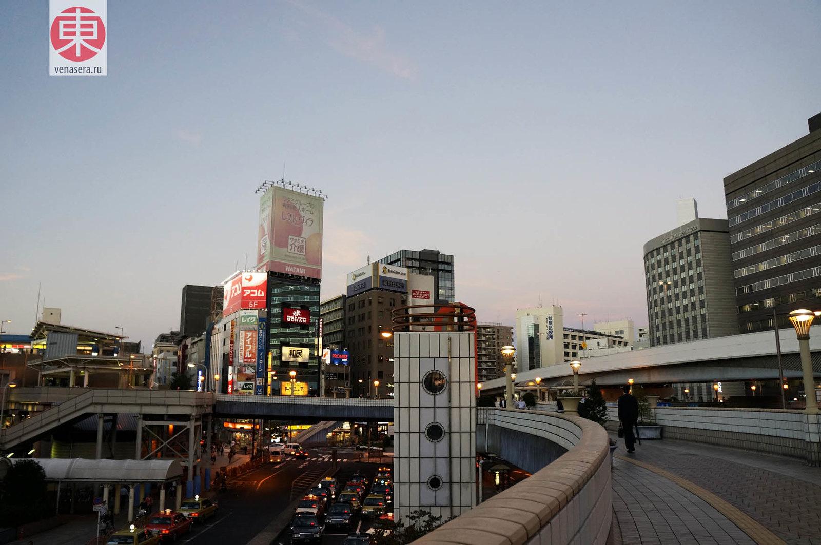 Уэно, Токио.