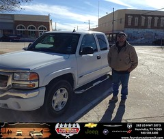 #HappyAnniversary to Robert Wilson on your 2006 #Gmc #Sierra 1500 from Dewayne Aylor at Four Stars Auto Ranch!