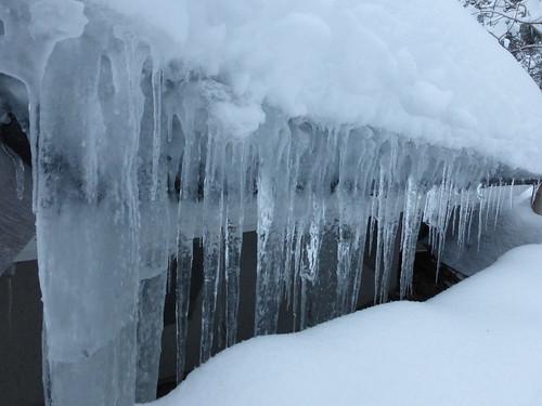 snow ice finland lapland icicles finnishlapland