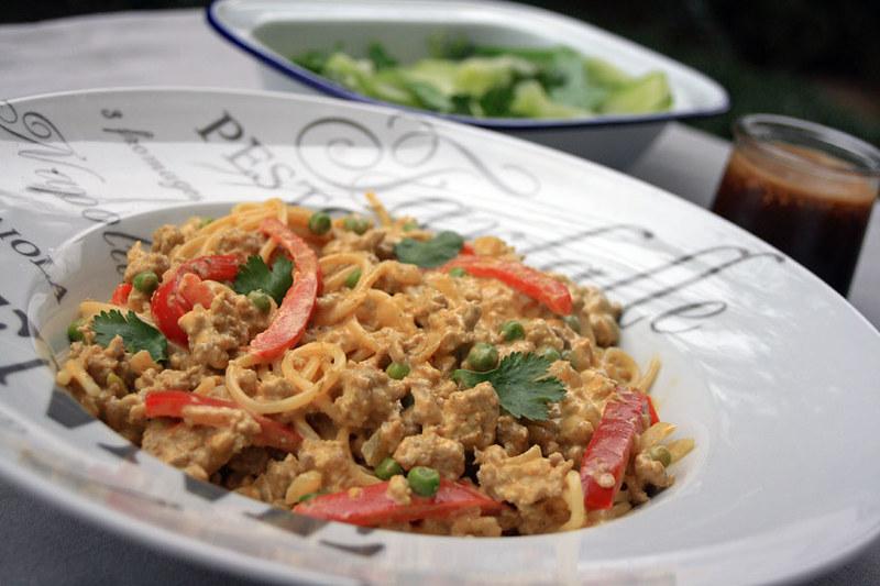 spaghetti bolognaise thaï