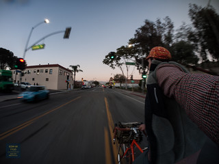 Hot Summer nights in February, still in the 60's with the sun going down as I make the hustle home for dinner and get ready for the night shift. Trick is this weather is happening in the Northern Hemisphere  http://store.oceanaircycles.com/