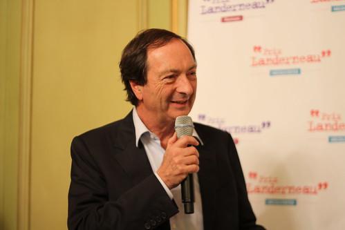 Michel-Edouard Leclerc - Prix Landerneau Découvertes et Roman 2015