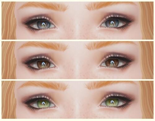 new IKON charm eyes