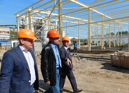 Депутати відвідали  підприємство «Українські лісопильні»