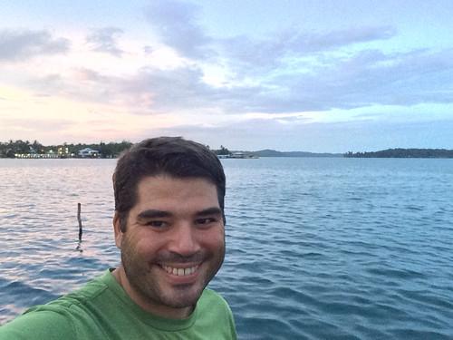 Bocas del Toro: coucher de soleil
