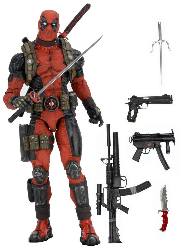 【包裝官圖公開!】1/4 比例的嘴砲王!NECA 1/4 比例死侍驚喜登場~ Deadpool 1/4th Scale Action Figure