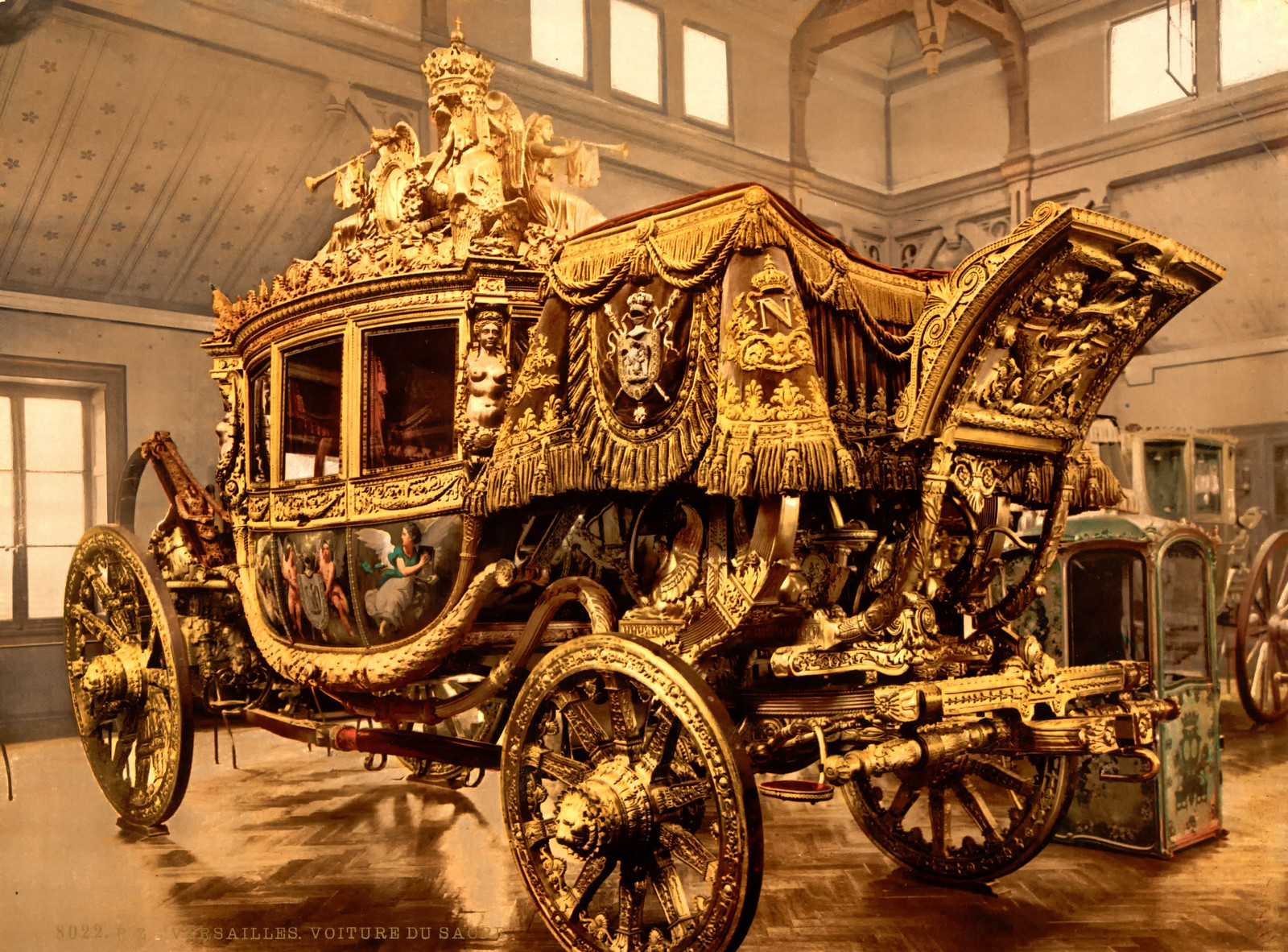 Charles X of France (1824 - 1830), carriage, Versailles, France, 1895