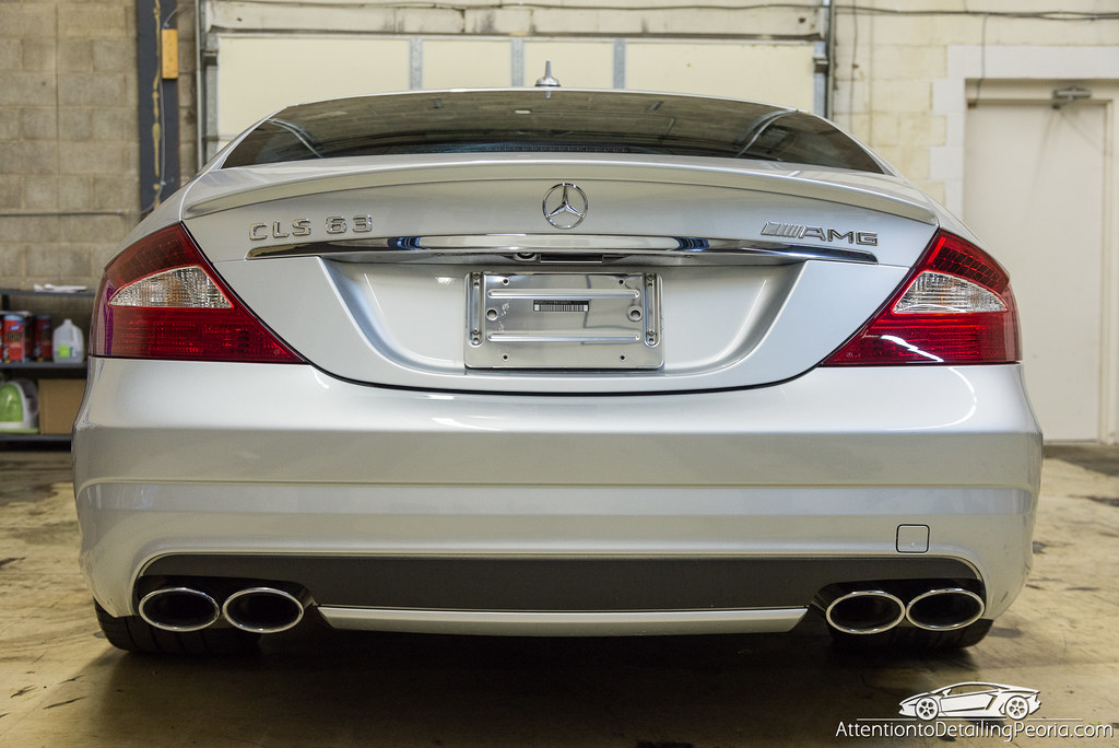 2008 CLS 63 AMG finished photo - back 2