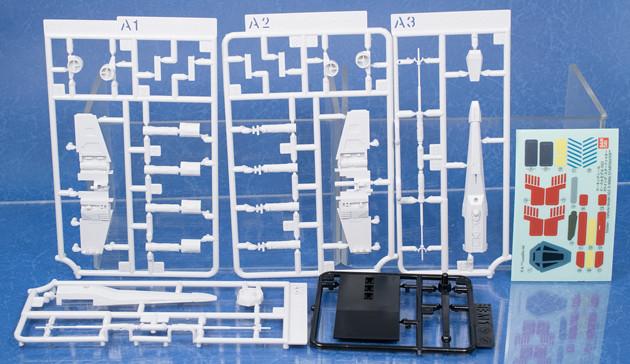 これまでのバンダイSW系キットをギュッと凝縮したパッケージデザインが特徴で、第一弾のスター・デストロイヤー、第二弾のXウイングの2つが同時リリース