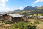 Bergtour Semien-Gebirge in Äthiopien. Foto: Gaby Hupfauer.