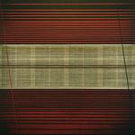 Emilio Lobato - Impertu; Collage with oil on panel; 36 x 36