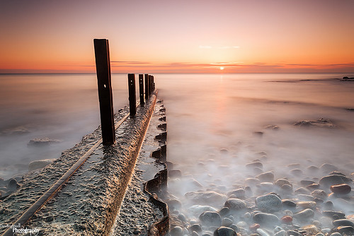 Old Groynes Again by Dave Brightwell