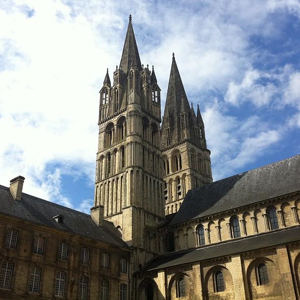 Abbaye aux Hommes. #Caen