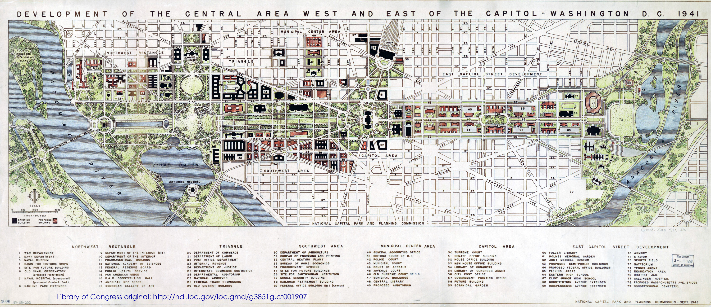 Master planning for Who designed the basic plan for washington dc
