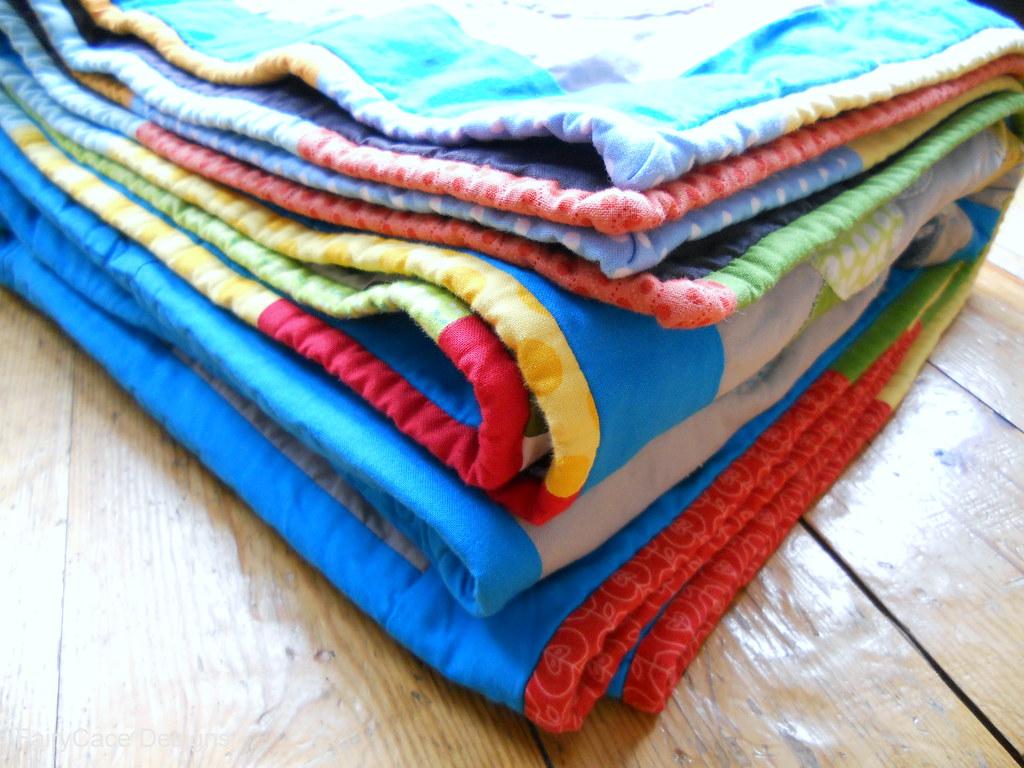 Darraghs quilt folded