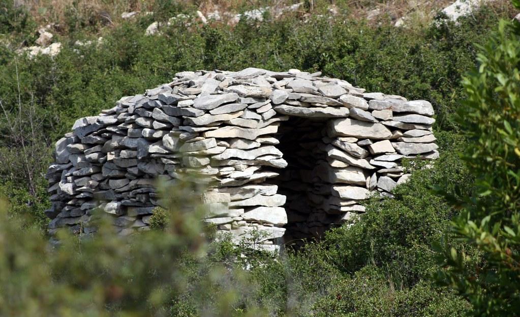 Chozo utilizado como refugio para pastores. Autor, Dvillafruela