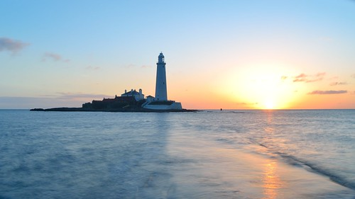 St Marys Lighthouse Sunrise