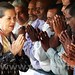 Congress workers greet Sonia Gandhi, Rahul Gandhi 05