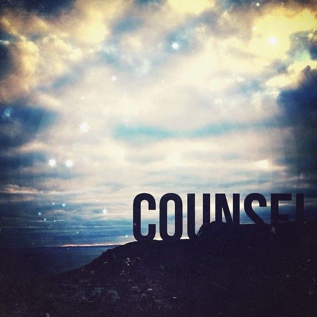 Gifts of the Holy Spirit Series   #2 Counsel // Typography ...