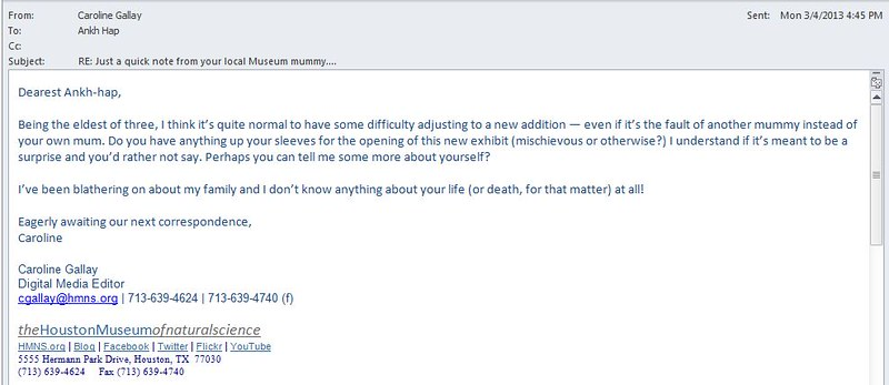 Emails from the other side: Our correspondence with a corpse continues