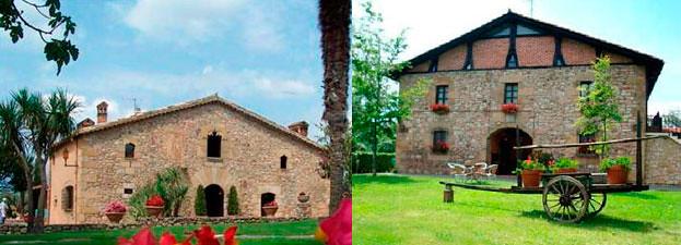 Hotel Más Solá (Girona) - Casa Rural Jesuskoa (Guipúzcoa)