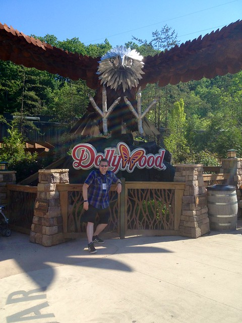 JB at DollyWood