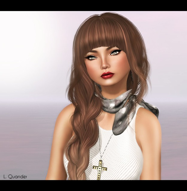 Glam Affair - Margot - India 03 - Dark brown & TRUTH HAIR Lotus - Browns01Fade