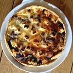 Spinach, Feta & Olive Quiche