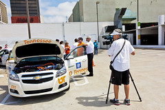 Year Two Media Ride and Drive with University of Tennessee, Knoxville