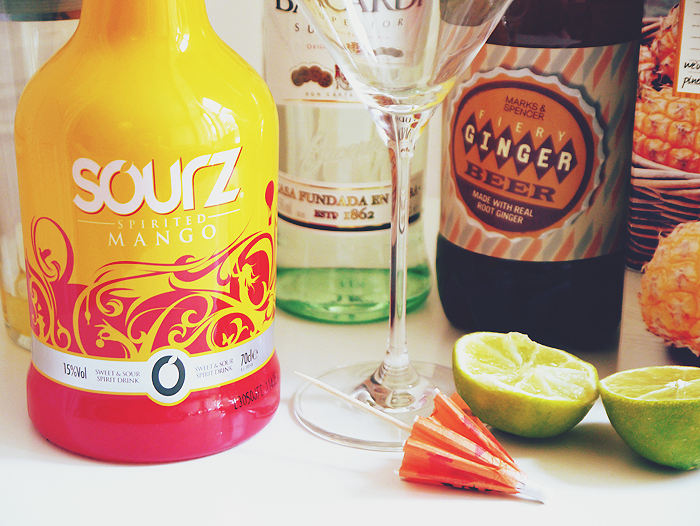 cocktail hour sourz mango mangotini recipe 1