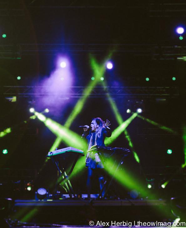 Grimes @ Sasquatch Music Festival 2013