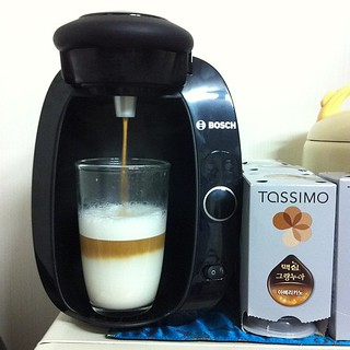 #capsule #coffee #machine #tassimo 동생이 사준 캡슐커피^^