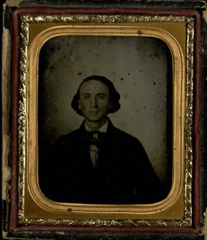 Sul Ross as a young man, undated daguerreotype