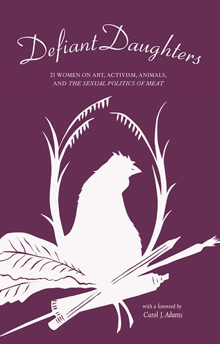 Defiant Daughters' cover has an outline of a hen.