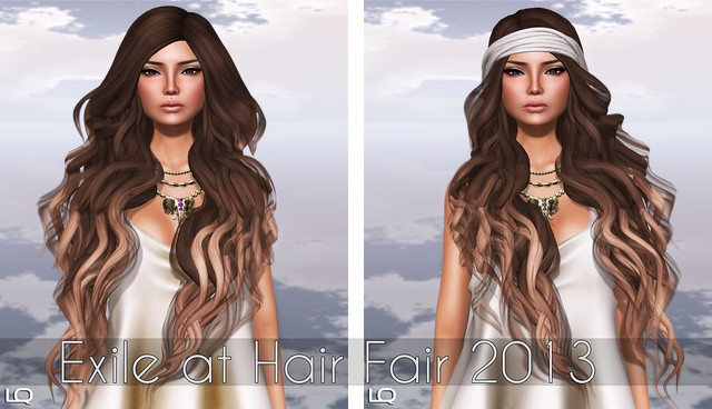 Exile at Hair Fair 2013- Glamourpus & Piece of My Heart - Cashmere/ Belleza - Ava for TLC in SK