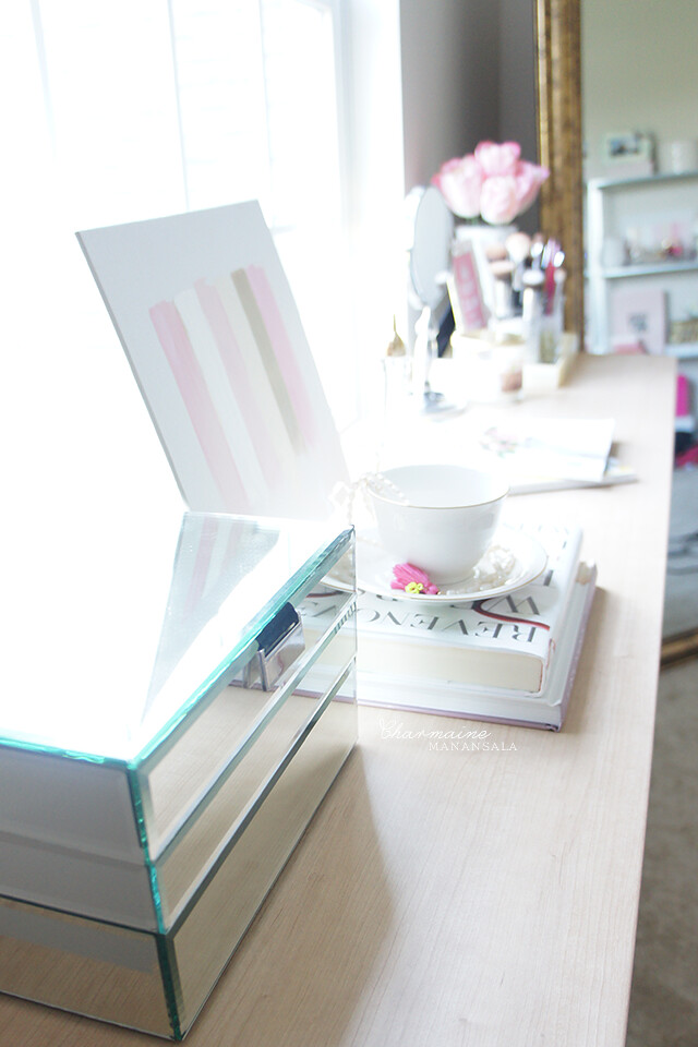 My Vanity & Makeup Collection