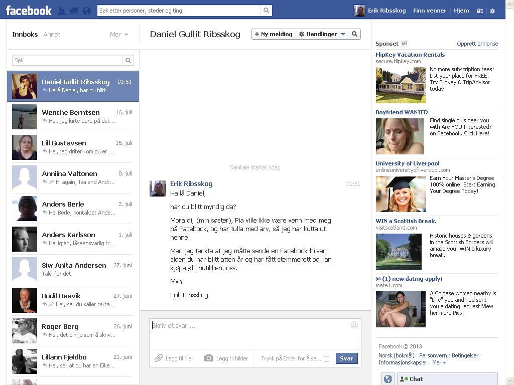 facebook daniel
