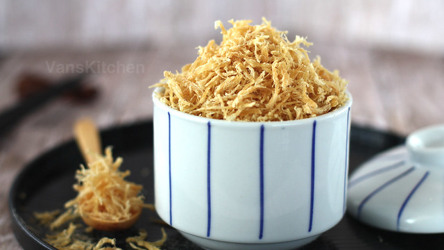 Dried Shredded Chicken (Chicken floss), Chà bông gà