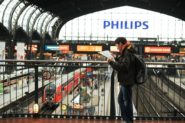 Hamburg. Bahnhof