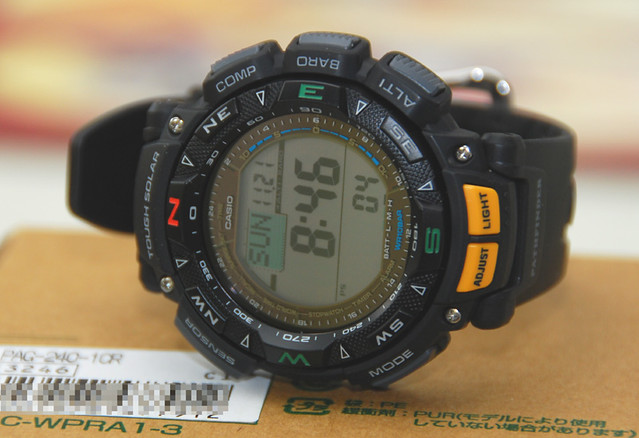 Casio Pathfinder PAG240-1CR