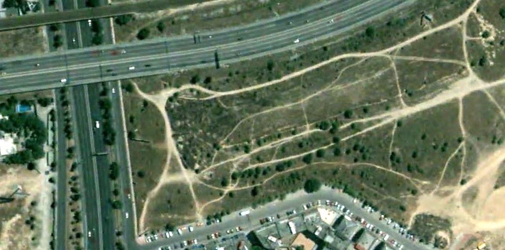 A-2 con M-40, Madrid, glorietas a ninguna parte, gloriet to heaven, dedicada a Wouter, antes, urbanismo, planeamiento, urbano, desastre, urbanístico, construcción