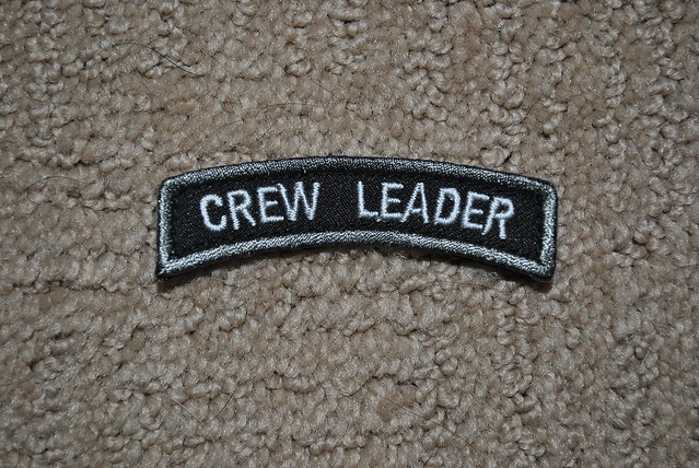 ITS Tactical Crew Leader Rocker Patch