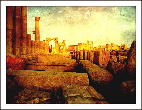art texture ruins roman kunst rustic ruine syria palmyra antic siria syrien geschichte antik archaelogy antike textur archäologie ausgrabungen effecte kulturdenkmal roba66 robatop syrienjordanien2010