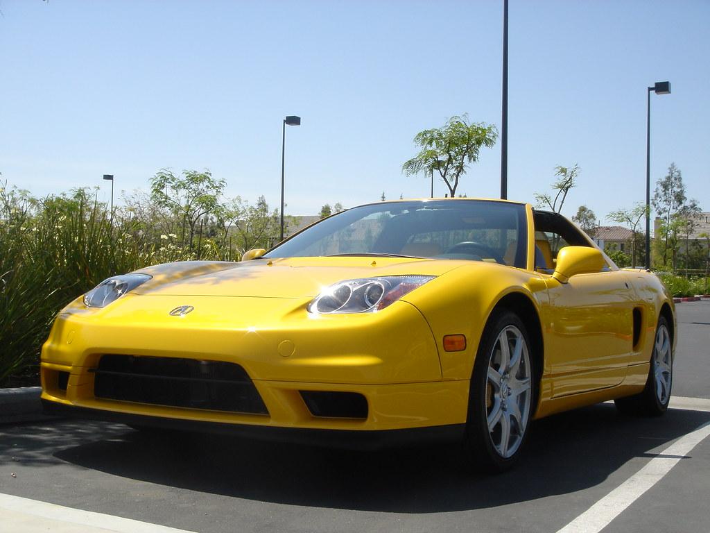 2004 Acura Nsx Yellow Honda Six7777 Flickr