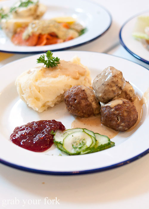 homemade swedish meatballs at fika swedish kitchen cafe manly